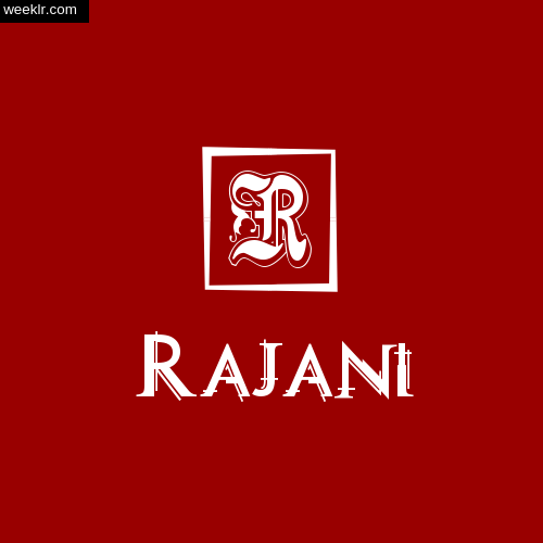 -Rajani- Name Logo Photo Download Wallpaper
