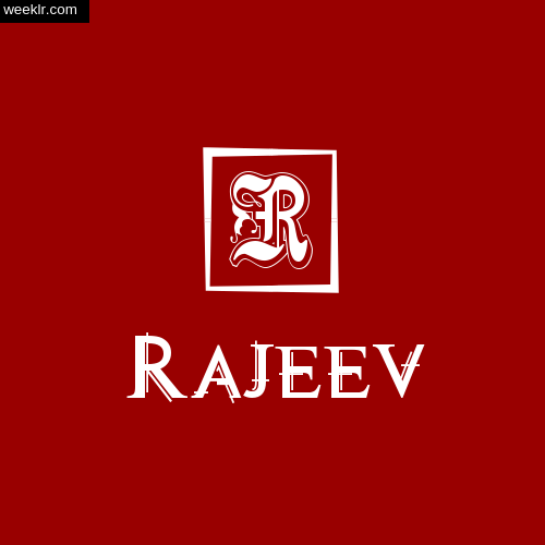 -Rajeev- Name Logo Photo Download Wallpaper