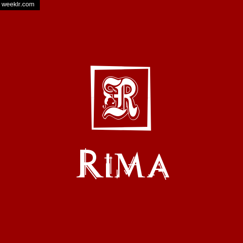 -Rima- Name Logo Photo Download Wallpaper