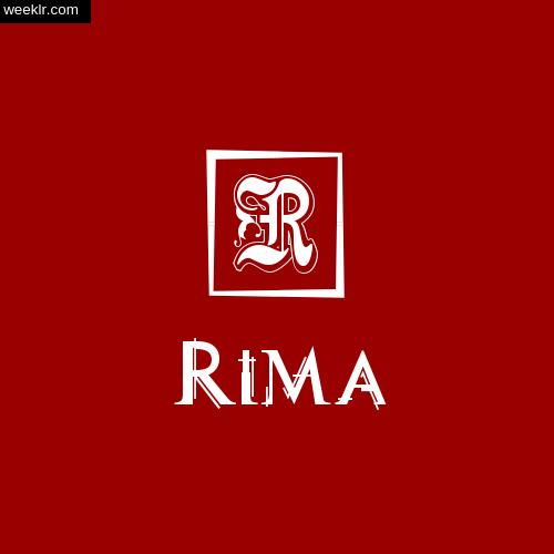 -Rima- Name Logo Photo Download Wallpaper