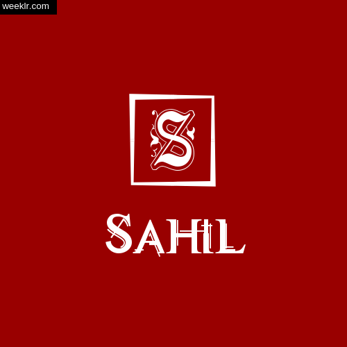 -Sahil- Name Logo Photo Download Wallpaper