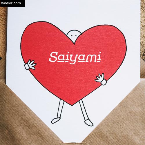 Saiyami on Heart Image love letter