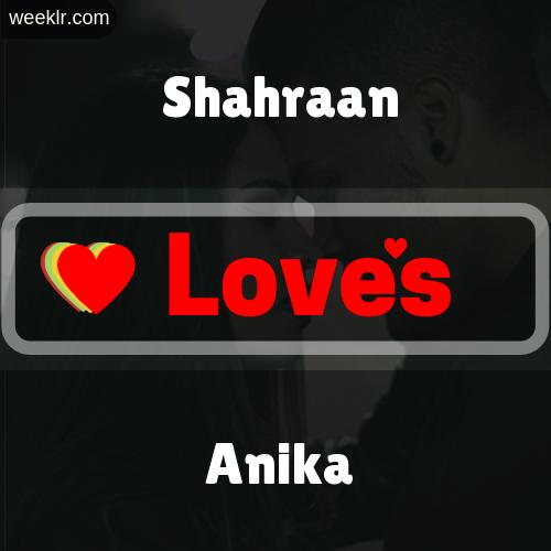 Shahraan  Love's Anika Love Image Photo