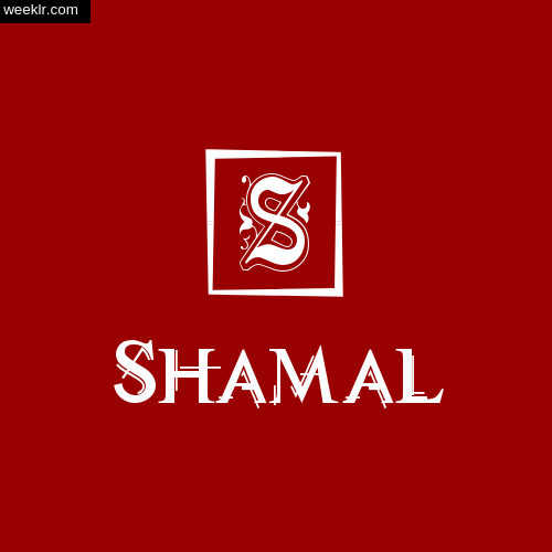 -Shamal- Name Logo Photo Download Wallpaper