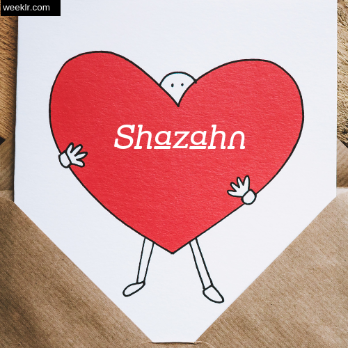 Shazahn on Heart Image love letter