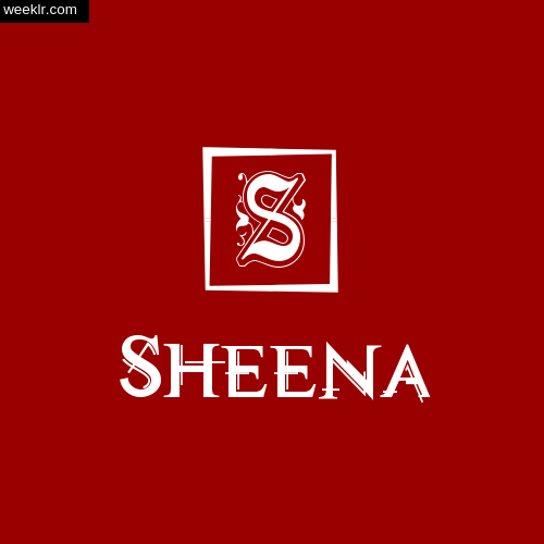 -Sheena- Name Logo Photo Download Wallpaper