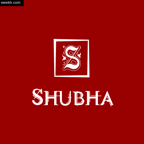 -Shubha- Name Logo Photo Download Wallpaper