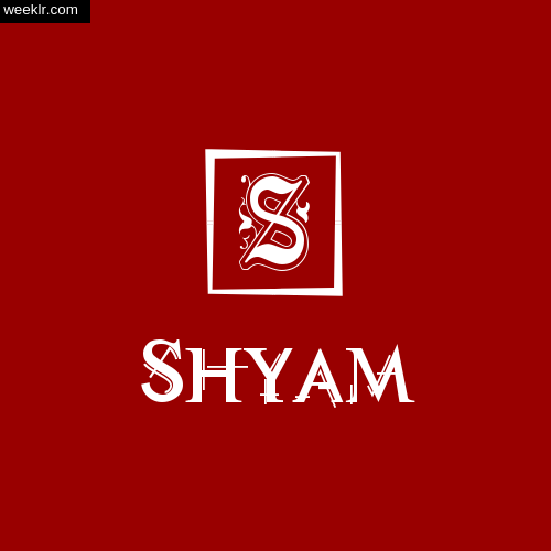 -Shyam- Name Logo Photo Download Wallpaper