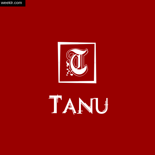 -Tanu- Name Logo Photo Download Wallpaper