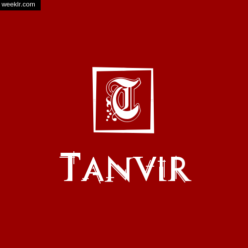 Tanvir Name Logo Photo Download Wallpaper