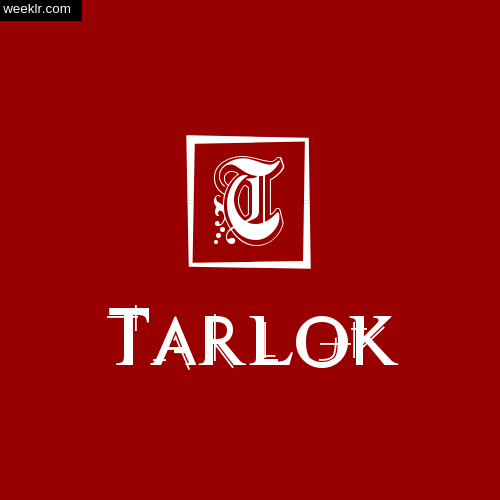 -Tarlok- Name Logo Photo Download Wallpaper