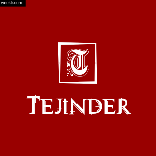 -Tejinder- Name Logo Photo Download Wallpaper