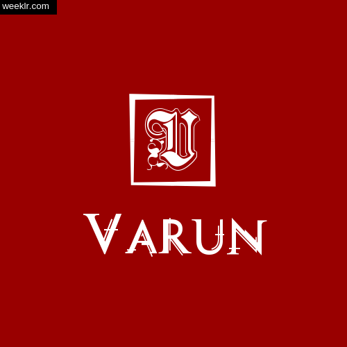 -Varun- Name Logo Photo Download Wallpaper