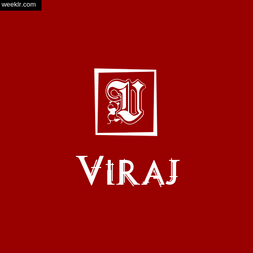 -Viraj- Name Logo Photo Download Wallpaper