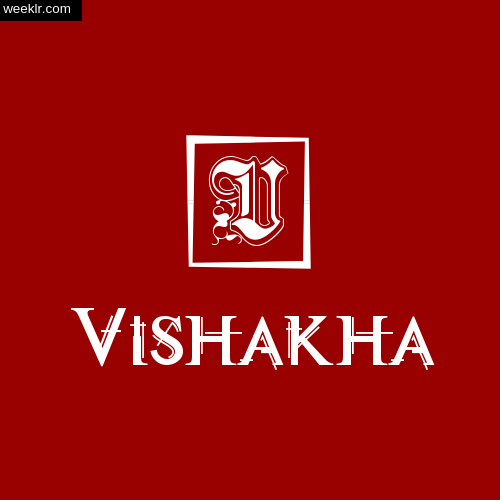 -Vishakha- Name Logo Photo Download Wallpaper