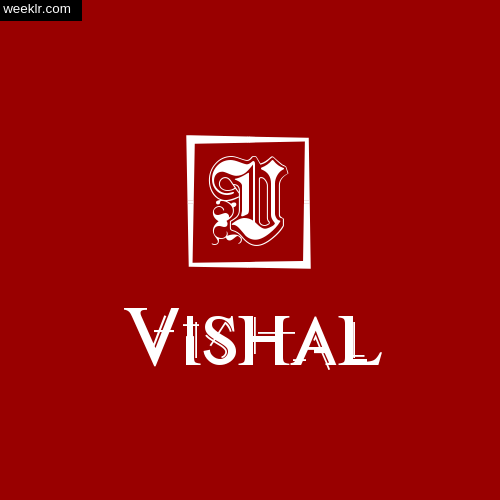 -Vishal- Name Logo Photo Download Wallpaper