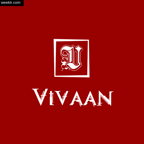-Vivaan- Name Logo Photo Download Wallpaper
