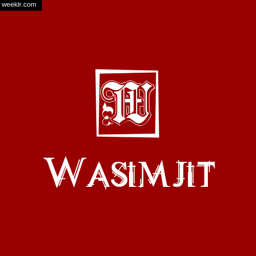 Wasimjit Name Logo Photo Download Wallpaper