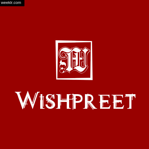 -Wishpreet- Name Logo Photo Download Wallpaper