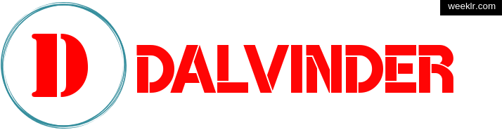 Write -Dalvinder- name on logo photo