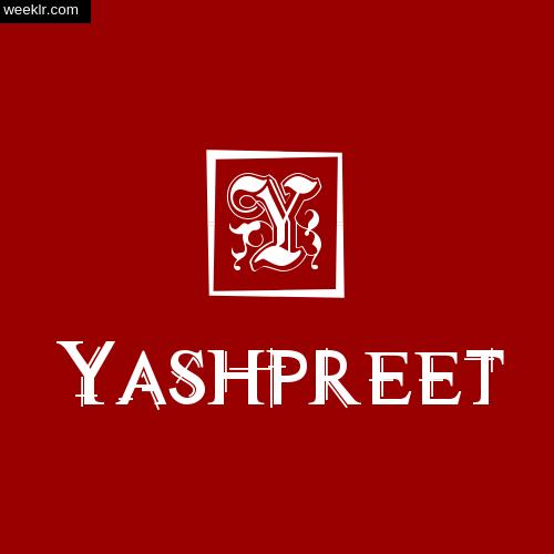 Yashpreet Name Logo Photo Download Wallpaper