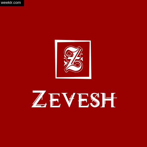 Zevesh Name Logo Photo Download Wallpaper