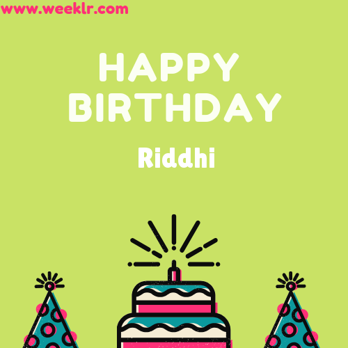 Riddhi Happy Birthday To You Photo