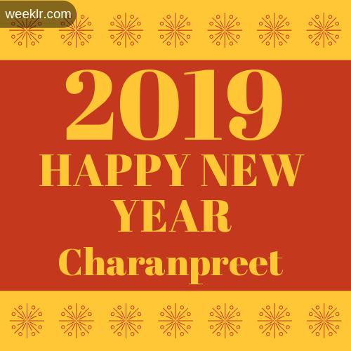 -Charanpreet- 2019 Happy New Year image photo