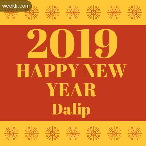 -Dalip- 2019 Happy New Year image photo