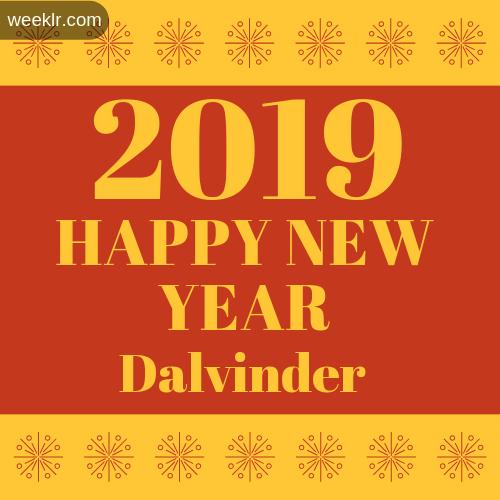 -Dalvinder- 2019 Happy New Year image photo