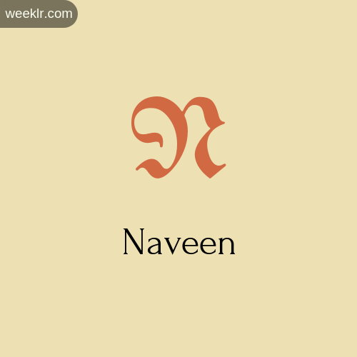 Download Free -Naveen- Logo Image