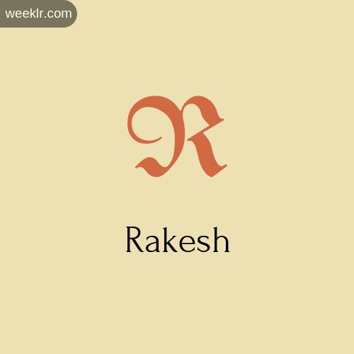 Download Free -Rakesh- Logo Image