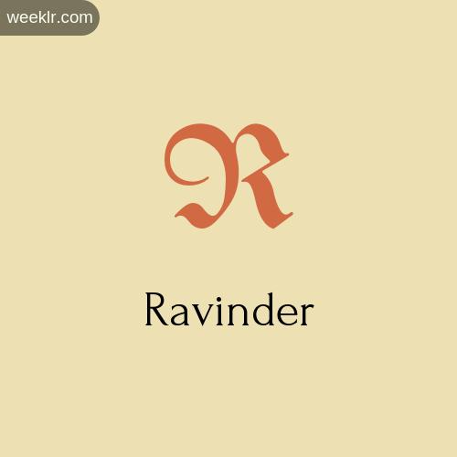 Download Free -Ravinder- Logo Image