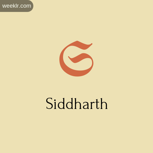 Download Free -Siddharth- Logo Image