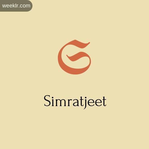 Download Free -Simratjeet- Logo Image