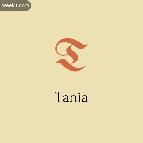 Download Free -Tania- Logo Image