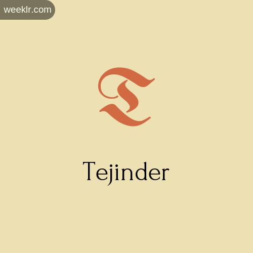 Download Free -Tejinder- Logo Image