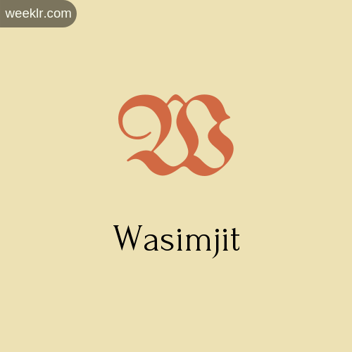 Download Free -Wasimjit- Logo Image