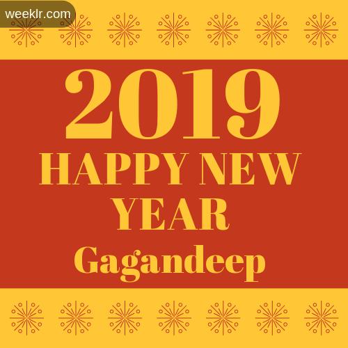 -Gagandeep- 2019 Happy New Year image photo