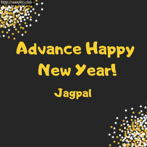 -Jagpal- Advance Happy New Year to You Greeting Image
