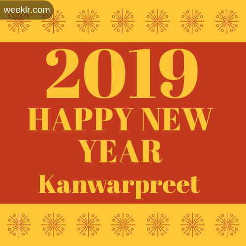 -Kanwarpreet- 2019 Happy New Year image photo