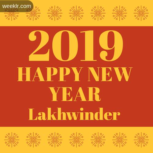 -Lakhwinder- 2019 Happy New Year image photo