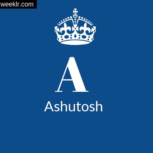 Make -Ashutosh- Name DP Logo Photo