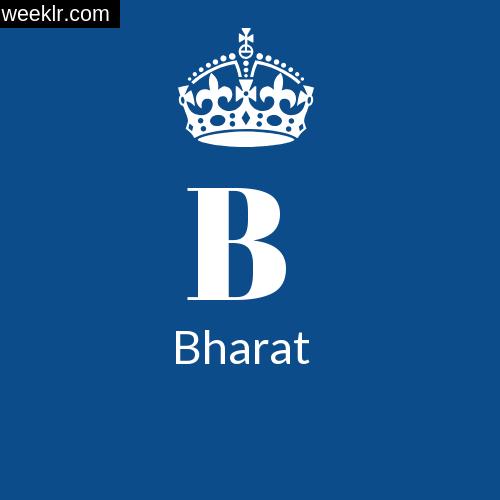 Make -Bharat- Name DP Logo Photo