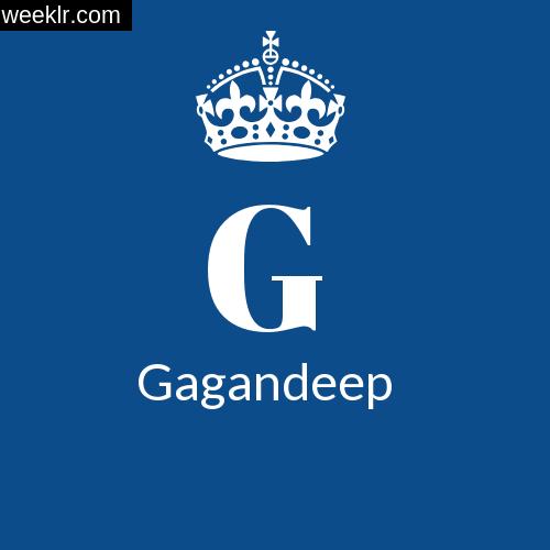Make -Gagandeep- Name DP Logo Photo