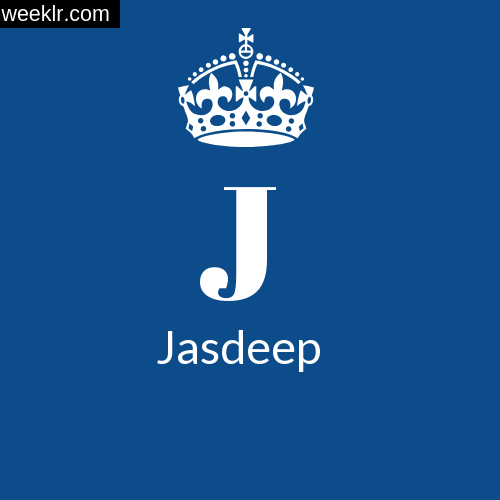 Make -Jasdeep- Name DP Logo Photo
