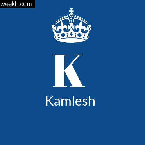 Make -Kamlesh- Name DP Logo Photo
