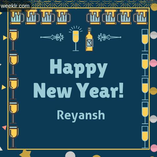 -Reyansh- Name On Happy New Year Images