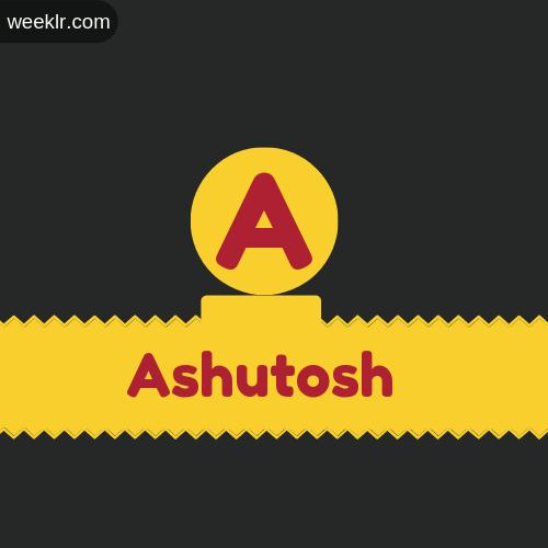Stylish -Ashutosh- Logo Images