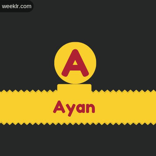 Stylish -Ayan- Logo Images